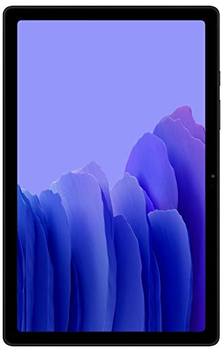 Samsung Galaxy Tab A7 26.31 cm (10.4 inch), Slim Metal Body, Quad Speakers with Dolby Atmos, RAM 3 GB, ROM 32 GB Expandable, Wi-Fi-only, Grey