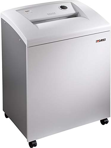 Buy Discount Dahle 40614 Paper Shredder w/SmartPower, Jam Protection, Solid Milled Cylinders, Shreds...