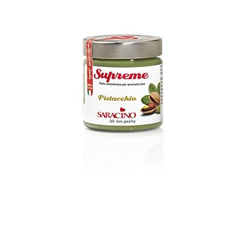 Saracino Pasta Concentrata Per Aromatizzare Al Gusto Pistacchio - 200gr