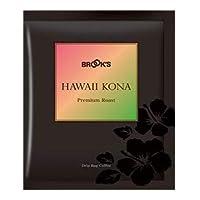 ブルックス ドリップバッグ ハワイコナ 10袋 プレミアムローストコーヒー[BROOK'S/BROOKS]