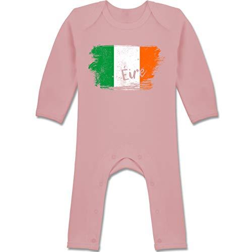 Städte & Länder Baby - Irland Vintage - 6/12 Monate - Babyrosa -...