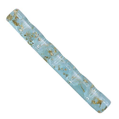 Nail Brush Stand Ladies Nail Pen Holder Nail Art Brush Pen Rack Stand Tool Clear Acrylic Colorful UV Gel Brush Display Holder (2Pcs)