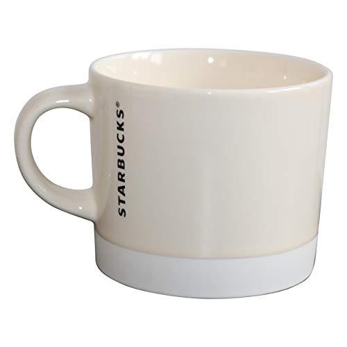 Starbucks Mug White Dipped Collectors Mug Tasse Cremeweiß