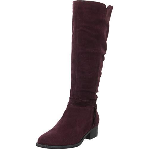 Tamaris Damen 1-1-25561-23 Hohe Stiefel, Rot (Vino 558), 37 EU