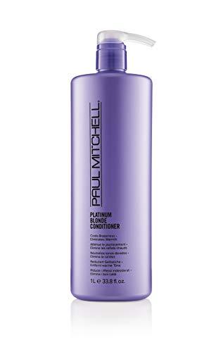 Paul Mitchell 110134 Platinum Blonde Conditioner - Violett Pflege-Spülung für blondes, graues oder weißes Haar, Haar-Pflege gegen Gelbstich, 1000 ml