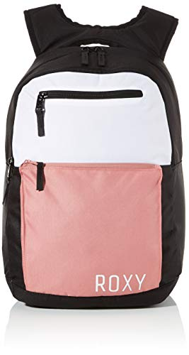 Roxy Here You Are COLORBLCK Fitness, Mochila. para Mujer, Rosa pálido, Medium