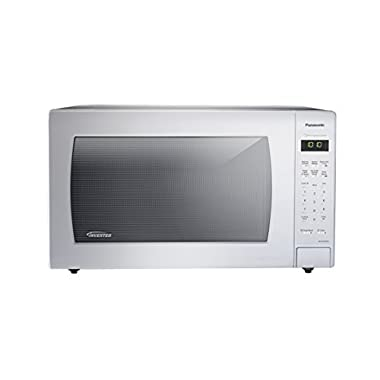 Panasonic NN-SN936W Countertop Microwave with Inverter Technology, 2.2 cu. ft, 1250W, White
