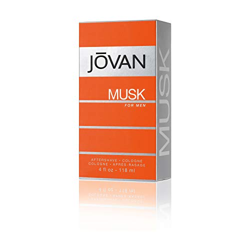 Jovan Musk for men After Shave, 1er Pack (1 x 0.118 l)