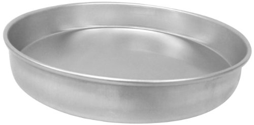 Allied Metal CP13X2 Hard Aluminum Pizza/Cake Pan, Straight Sided, 13 by 2-Inch