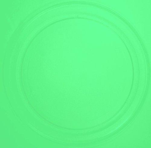 Mikrowellenteller / Drehteller / Glasteller für Mikrowelle # ersetzt Privileg Mikrowellenteller # Durchmesser Ø 36 cm / 360 mm # Ersatzteller # Ersatzteil für die Mikrowelle # Ersatz-Drehteller # OHNE Drehring # OHNE Drehkreuz # OHNE Mitnehmer