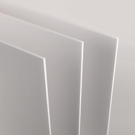 Feuille Carton Mousse 50x70 5mm, blanc – Lot de 25