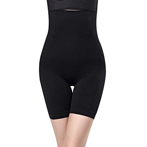 Huaheng Pelvis corrigeren Shaper afslanken benen controle slipje dij slanker ondergoed 4XL Zwart