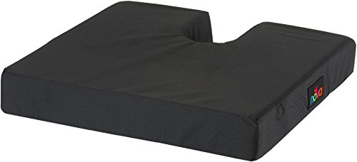 NOVA Coccyx Seat & Wheelchair Cushion, High Density Foam Cushion with Removable Cover, Tailbone & Spine Cut Out Cushion