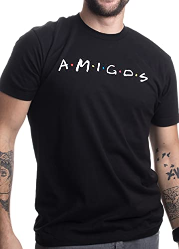 Amigos   Funny 90s TV Pop Culture Friends Humor, Silly Retro Men Women...