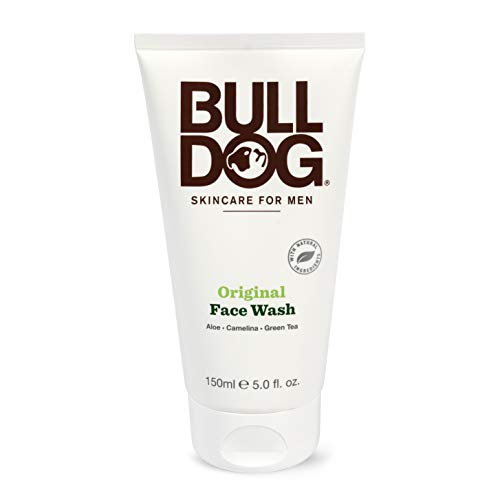 Bulldog Natural Skincare Original Face Wash For Men, 5 Oz (1 Pack)