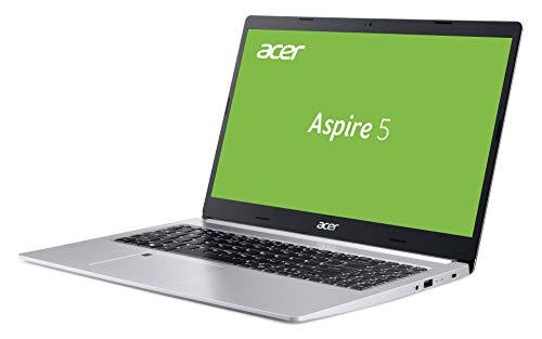 Acer Aspire 5 (A515-55-51NJ) 39,62 cm (15,6 Zoll Full-HD IPS matt) Multimedia Laptop (Intel Core i5-1035G1, 8 GB RAM, 512 GB PCIe SSD, Intel UHD, Win 10 Home) silber - 3