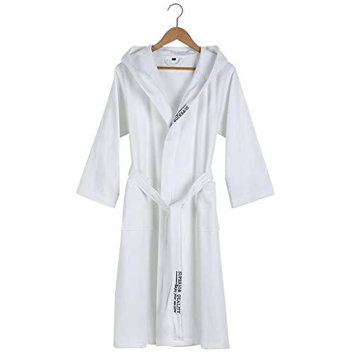 HXGpajamas Albornoz Mujeres Hombres Unisex Bata con Capucha Microfibra Suave Suave Coy Fleece, Chal Toalla Envoltura De Baño Cómodo (Color : C, Size : Medium)