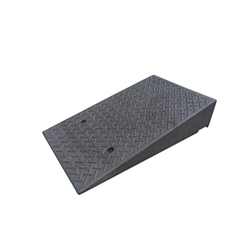 "2.5/""Rise Rubber Threshold Ramp Loading Dock Wheelchair Motorcycle Portable Heavy Duty Anti-Slip Curb Ramps for Car Driveway Vehicle"