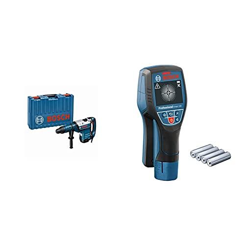 Bosch Professional Martillo perforador combinado GBH 8-45 DV + Bosch Professional Detector de pared D-tect 120