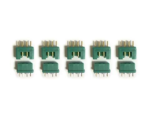 marfitec © 5 Paar (10 Stück) MPX Steckverbinder (Stecker/Buchse) kompatibel