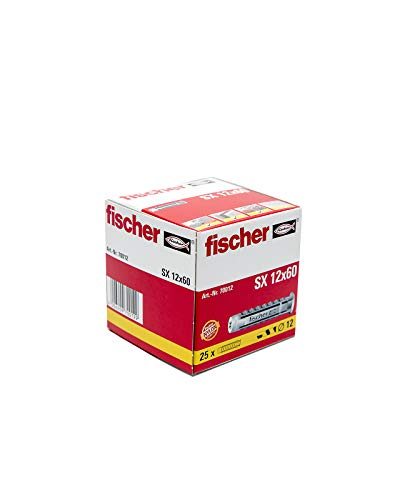 Fischer Nylon-Dübel SX12 - 25 Stück