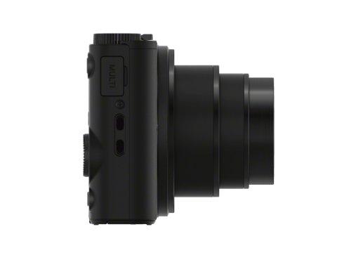 Sony DSC-WX350 Digitalkamera (18 Megapixel, 20-fach opt. Zoom, 7,5 cm (3 Zoll) LCD-Display, NFC, WiFi) schwarz