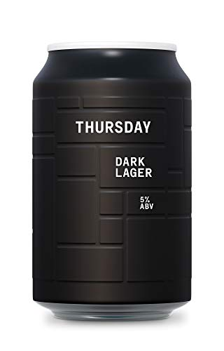 AND UNION Craft Beer - THURSDAY Dark Lager - 24 x 330ml Dosen - inkl. 6,00€ Pfand