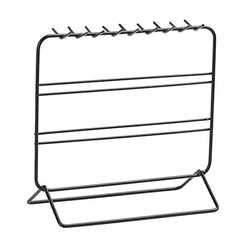 Estante de Almacenamiento de Joyas de Hierro Creativos Muebles para el hogar Pendientes Pendientes Collar Organizador Soporte de exhibición para la Herramienta Storag