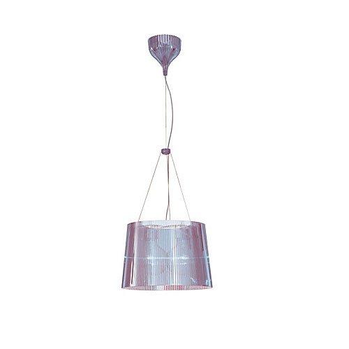 Kartell 9080P2 Ge - Lámpara de techo transparente, color