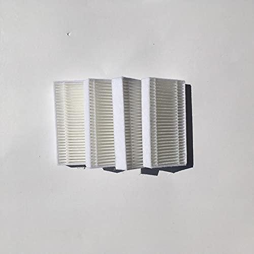 Jxjamp 4 Teile/los Staubsauger Roboter-Reiniger Teile Filter für Haier T320 T321 T325 Serie