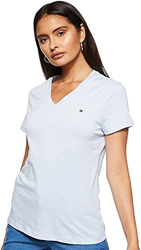 Tommy Hilfiger V-Neck T Camiseta de Manga Corta con Cuello de Pico...