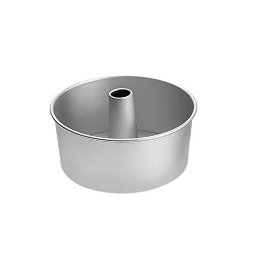 Gaoominy 6 Zoll Aluminiumlegierung Runde Chiffon Kuchenform Abnehmbare Untere Hohlen Schornstein Kuchenform DIY Backen Kuchen Werkzeuge