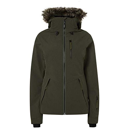 O'Neill PW Vauxite Jacket Skijacke und Snowboardjacke für Damen M Forest Night