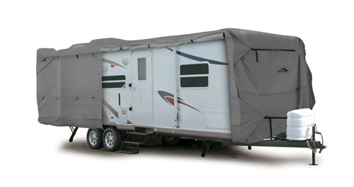 Camco 45744 30' ULTRAGuard Class C/Travel Trailer Cover (108'H x 102'W)