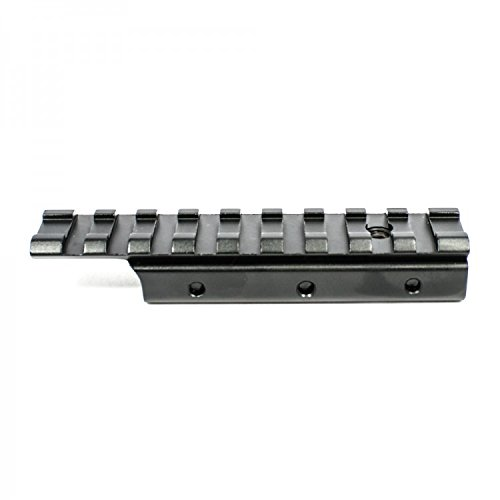 """M1SURPLUS Adapter Rail Mount - Converts 3/8"""" Dovetail Grooves to Accept 7/8"""" Weaver and Picatinny Style Scopes and Accessories/This Item Fits Mossberg 702 Henry Arms 22 Lever Action Rimfire Rifles"""