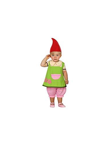 DISBACANAL Disfraz de Duende para beb - -, 6-12 Meses