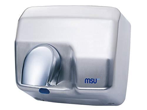 MSU® - Secamanos, Secador de Manos Optico 2500 W Acero INOX