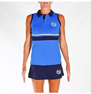 PADEL REVOLUTION - Polo Tecnico Woman Royal Edition: Amazon.es ...