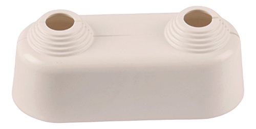 Sanitop-Wingenroth 27009 0 dubbele rozet, wit