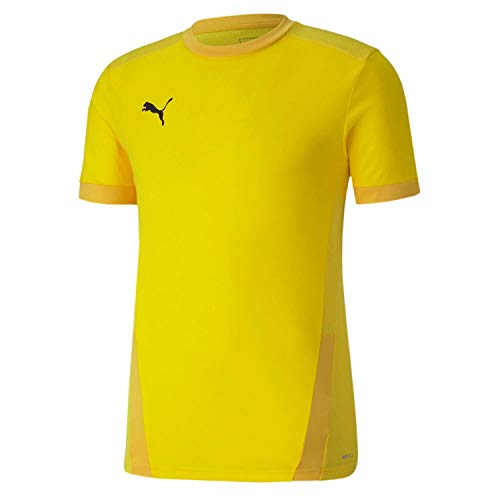 PUMA Teamgoal 23 Jersey Camiseta, Hombre, Cyber Yellow/Spectra Yellow, L