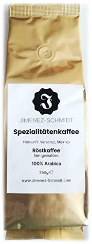 Spezialitätenkaffee aus Mexiko, Röstkaffee fein gemahlen, hochwertige Arabica Bohnen, sehr hochwertiger Kaffee