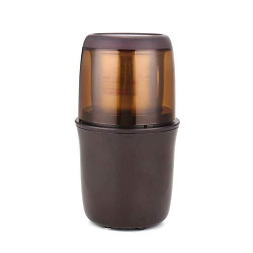 YWSZJ Máquina de café, Grano de café del hogar Molino eléctrico Molinillo de café Máquina de café portátil