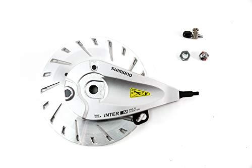 Shimano Fahrrad Rollen Bremse Roller Brake Inter-M BR-IM81-F vorn Kühlscheibe mit Zubehör