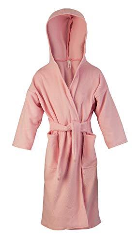 Kaarsgaren badstof badjas voor kinderen, in verschillende maten