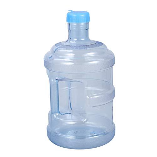 VOSAREA Wasserkrug 5L Mineralwasserflasche Tragbarer Wassereimer für Auto Outdoor Wandern Überleben Rucksackzubehör