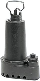 Superior Pump 91501 1/2 HP Submersible Cast Iron Utility Pump