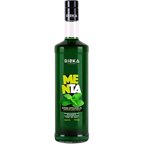 RISKA - Menta Licor sin alcohol 1 Litro