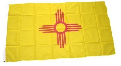 Fahne / Flagge USA New Mexico NEU 90 x 150 cm Flaggen
