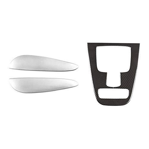 FUFU Centro Console Media Mouse Side Trim Aplitada para Mercedes Benz Gle Gls Class W167 V167 2020+ & Central Gear Shift The Trim