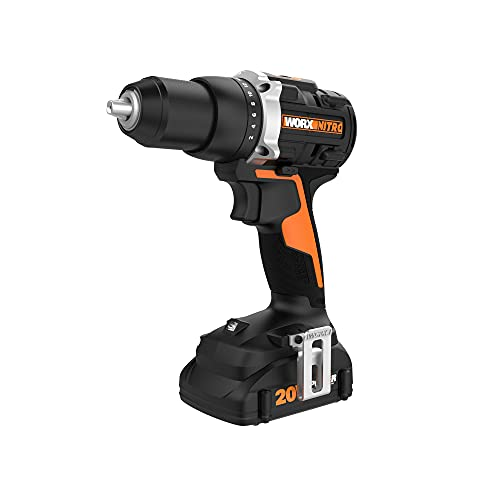Worx WX102L 20V Power Share Cordless Drill/Driver with Brushless Motor